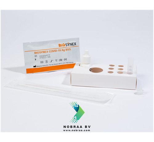 BIOSYNEX Corona Zelftest | Biosynex Covid-19 Antigeen sneltest | Neusswab | 25 Pack
