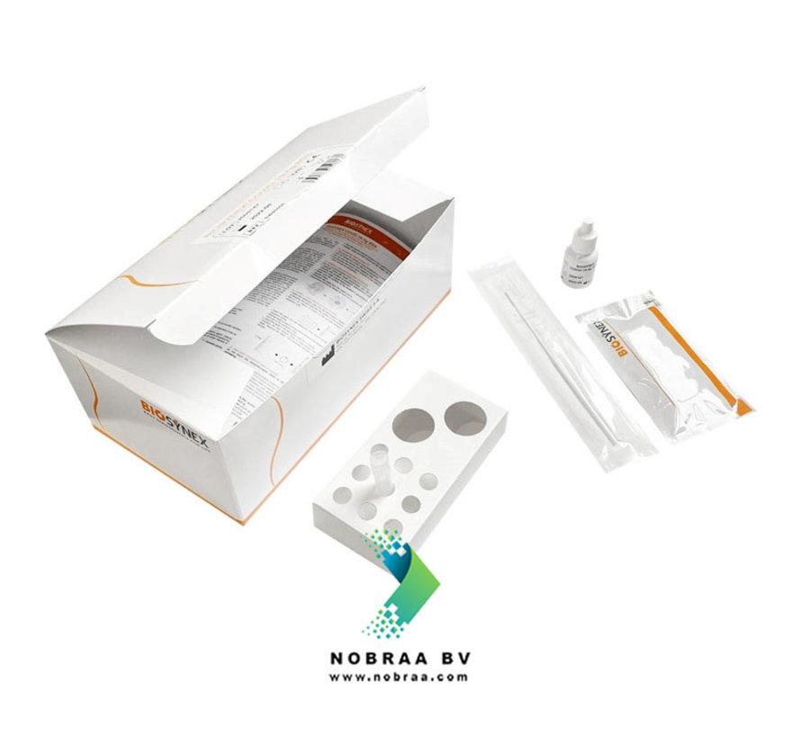 Corona Zelftest | Biosynex Covid-19 Antigeen sneltest | Neusswab | 25 Pack