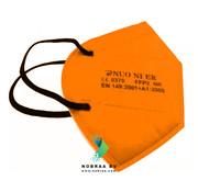 NUO 1R ORANJE FFP2 NR 5 Laags kwaliteit mondmasker | Single pack