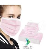 Miduoduo Chirurgische mondmaskers Roze MDD | 50x