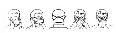 FFP2 Instructie illustratie
