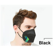 Nuo N1 ER FFP2 NR Nuo 5 Layer Top quality comfortable facemask Black | 10x