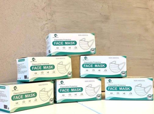 Mondkapjes.nl 50 pack Budget Surgical masks (GB/T 32610-2016)