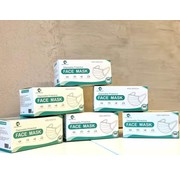 Mondkapjes.nl 2000x Budget Surgical mask mask in boxes of 50pc
