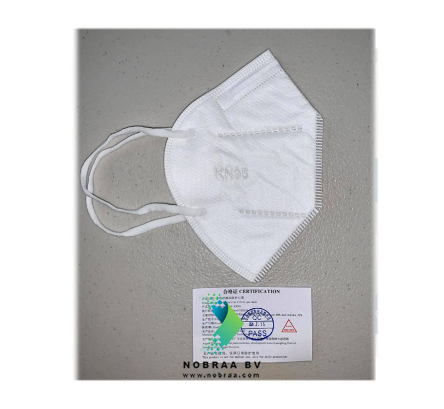 KN95 - FFP2 Personal Protective Mask  White | JRT | 20-Pack