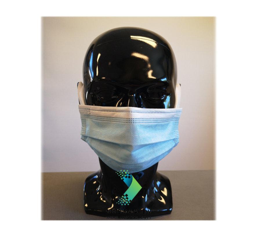 3 Laags Chirurgische Mondkapjes Budget | HZX | Disposable doos | 150 pack