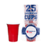 American Cups Red Cups - Rood - 473ml (25st)