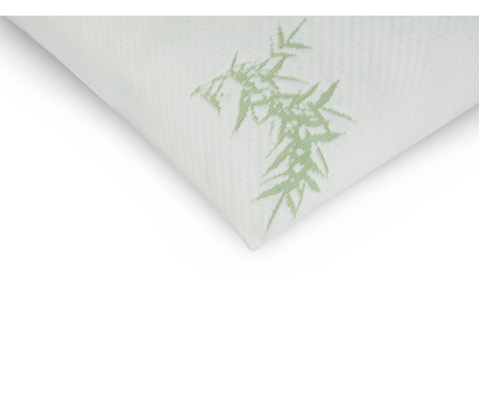 2 stuks Bamboo memory foam kussens