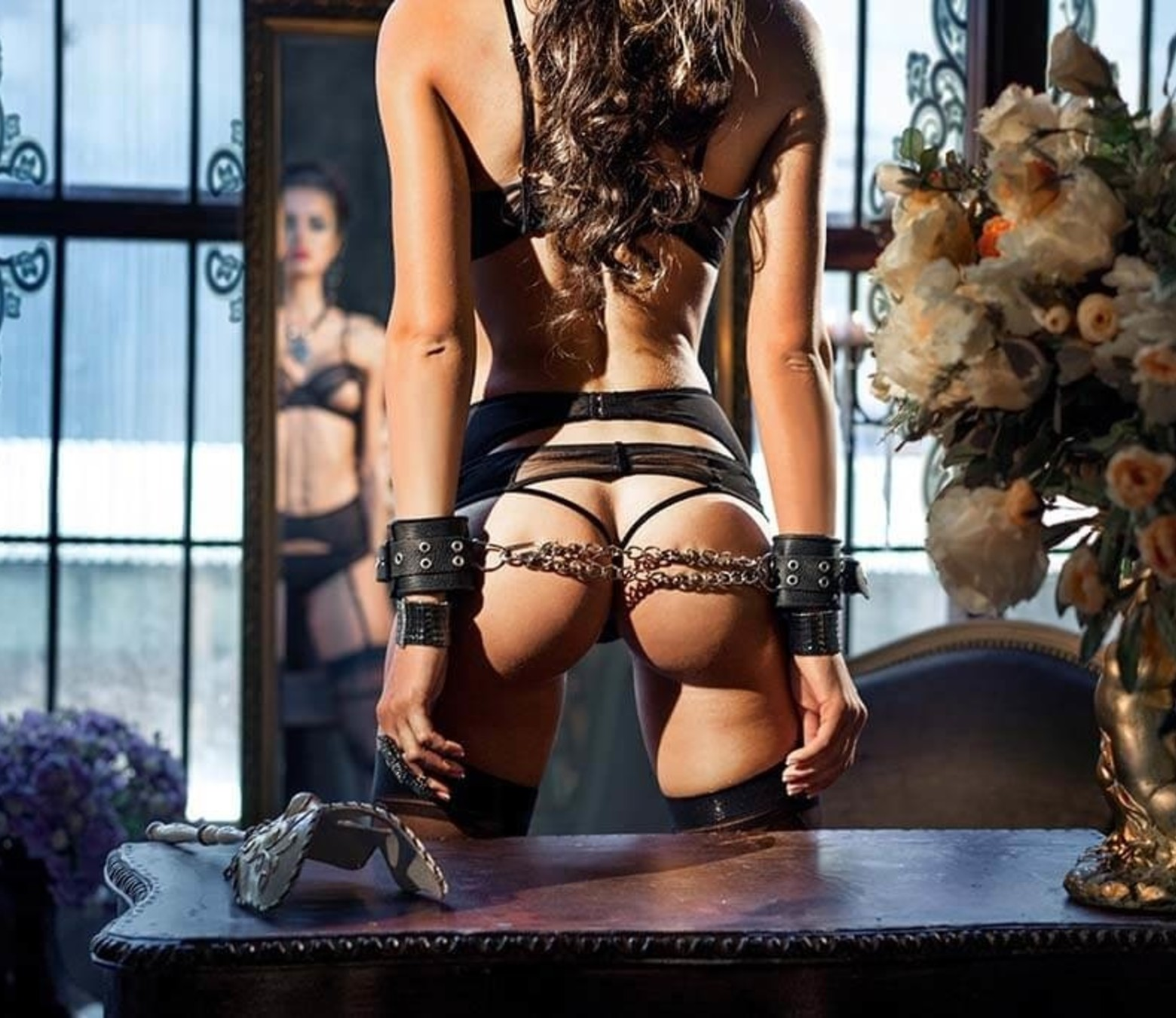Tied Up foto-art plexiglas