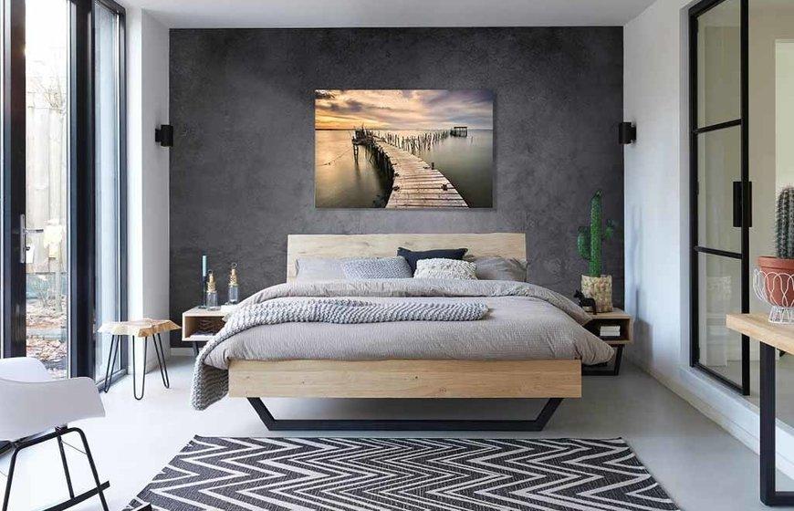 Wooden Pier foto-art plexiglas