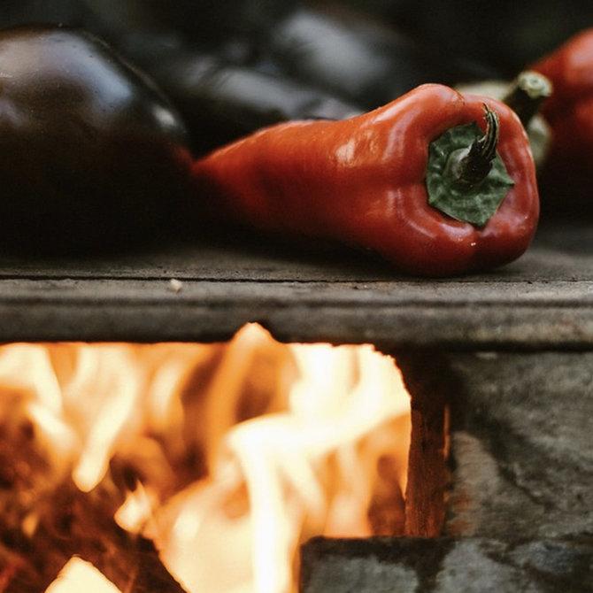 Gerookte paprika