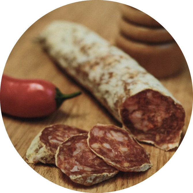 Salami met Espelette peper