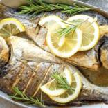 Italiaanse viskruiden met limoen
