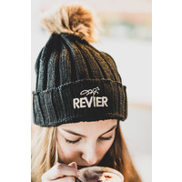 Revier Hat with fur bobble