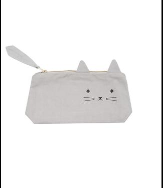 Fabelab Fabelab Pennenzakje Cuddly Cat Grijs