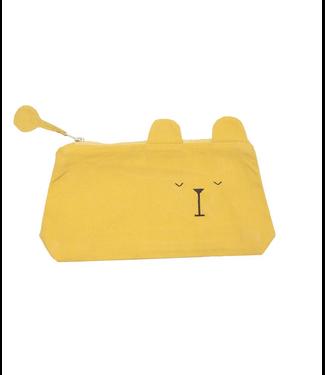 Fabelab Fabelab Pencil Case Laze Bear Honey