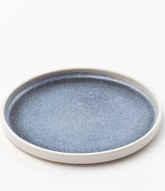 Lars Rank Keramik Lars Rank Keramik Handgemaakt Blue Hills Bord Ø 24,5cm