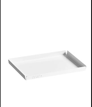 NUR NUR Tray Medium White 20,3 x 15,7 x 1,5cm
