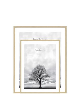 Incado Incado Nordic Line A3 Slim Frame Oak Look with glass