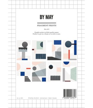 by May by May Fragment A5 Prints Set of 8