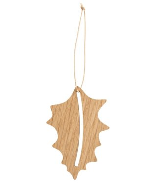 by Wirth by Wirth Christmas Hang on Oak Holly