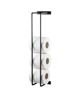 by Wirth by Wirth Toilet paper holder Black Oak