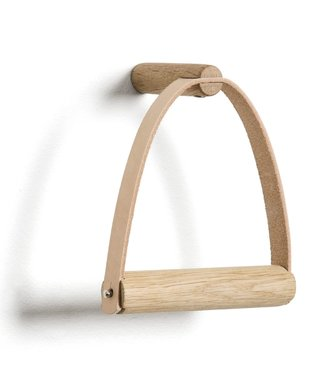 by Wirth by Wirth Toiletpaperholder Soap Treated Oak