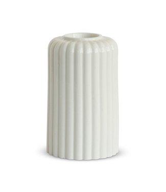 Dottir Dottir Candle stick Alba Six White