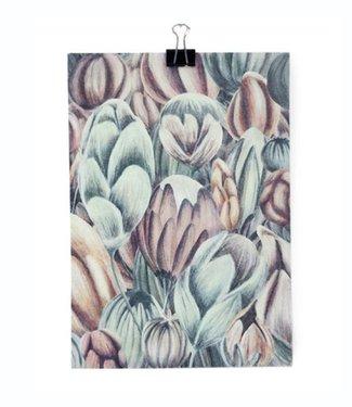IMIform - Emelie Gårdeler IMIform A5 Mini Poster Blossom
