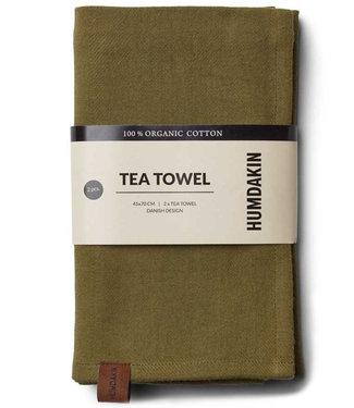 Humdakin Humdakin Tea Towel Fern  Set of 2