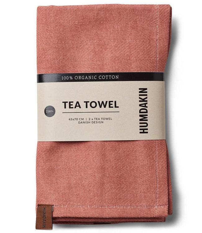 Humdakin Humdakin Tea Towel Dusty Powder  Set of 2