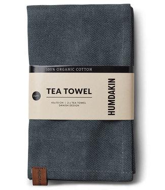 Humdakin Humdakin Tea Towel Green Seaweed   Set of 2