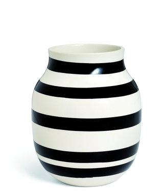 Kähler Design Kähler Design Omaggio Vase Black Stripe H200mm