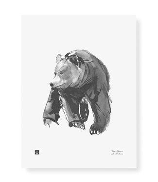 Teemu Järvi Teemu Järvi Poster Gentle Bear 30 x 40 cm