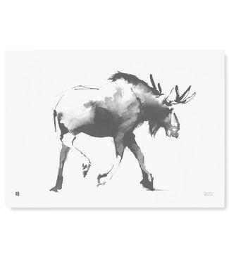 Teemu Järvi Teemu Järvi Poster Elk 50 x 70 cm