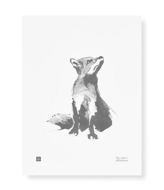Teemu Järvi Teemu Järvi Poster Fox 30 x 40 cm