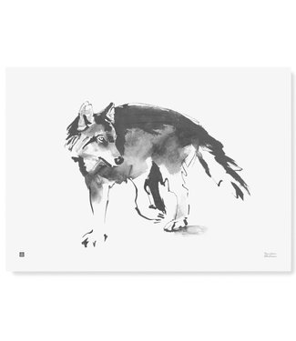 Teemu Järvi Teemu Järvi Poster Wolf 50 x 70 cm