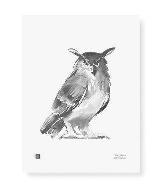 Teemu Järvi Teemu Järvi Poster Uil 30 x 40 cm