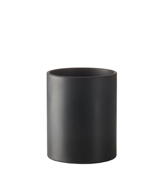 SEJ Design SEJ Design Cylinder Vaas Zwart 14x17cm