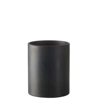 SEJ Design SEJ Design Cylinder Vase Black 14x17cm