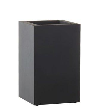 SEJ Design SEJ Design Zwarte Vaas 11x11x18cm