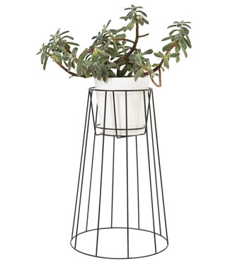 OK Design OK Design Cibele Plant Stand Large Black