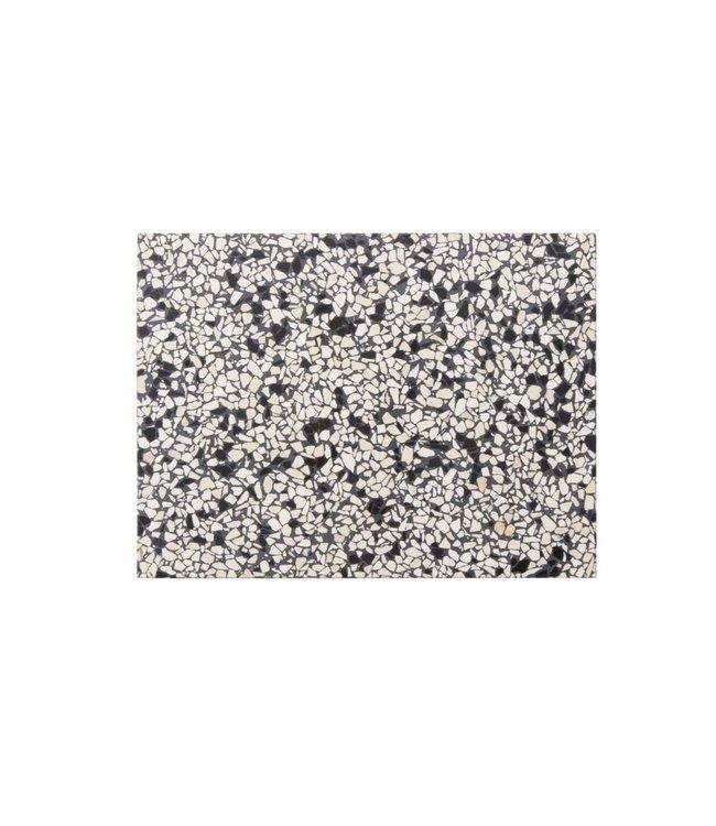 OK Design OK Design Confetti Terrazzo Board Black Ivory Large