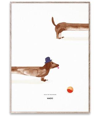 Paper Collective MADO Poster Doug de teckel  50 x 70 cm