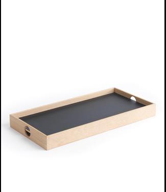 The Oak Men The Oak Men Flip Tray (Zwart/Wit) 40 x20 x 4 cm