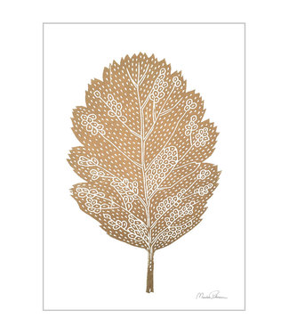 Monika Petersen Monika Petersen Mini Poster Oak leaf A5