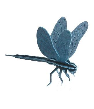 LOVI Lovi dragonfly wood - different colours - Birch plywood 3D-animal DIY package