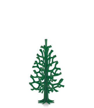 LOVI Lovi Spar boom 14cm groen - Berkenhout  3D-boom DIY pakketje