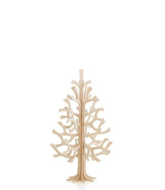 LOVI Lovi Spar boom 14cm naturel - Berkenhout 3D-boom DIY pakketje
