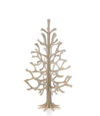 LOVI Lovi Spar boom 25cm naturel - Berkenhout 3D-boom DIY pakketje